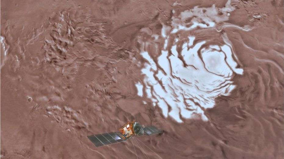 Research Defines the Presence of Water On Mars