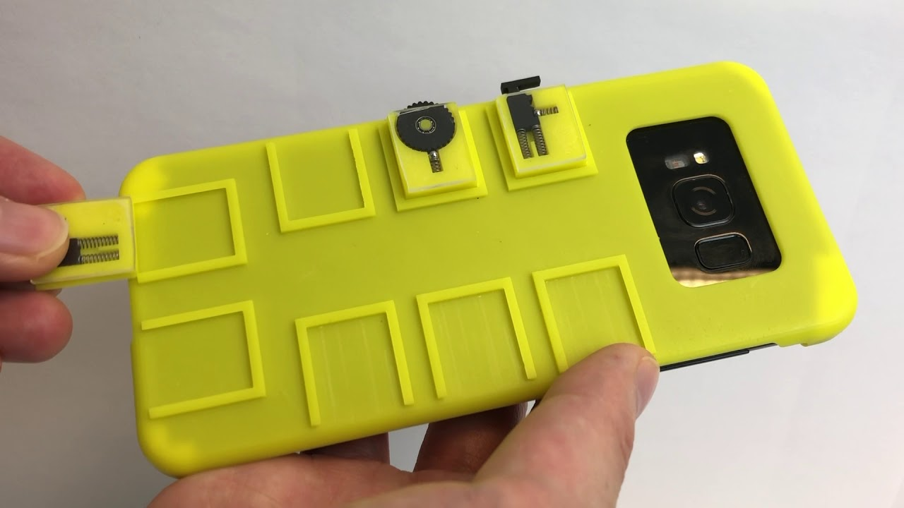 Researchers build a smart case to control your phone with no wires or Bluetooth required