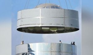 South Texas Starship Boosted With A Concluding Steel Dome By SpaceX